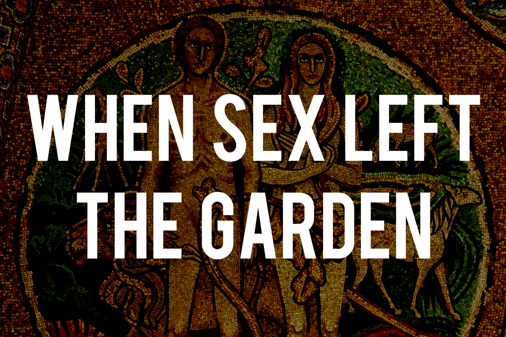 We have sex in the garden
