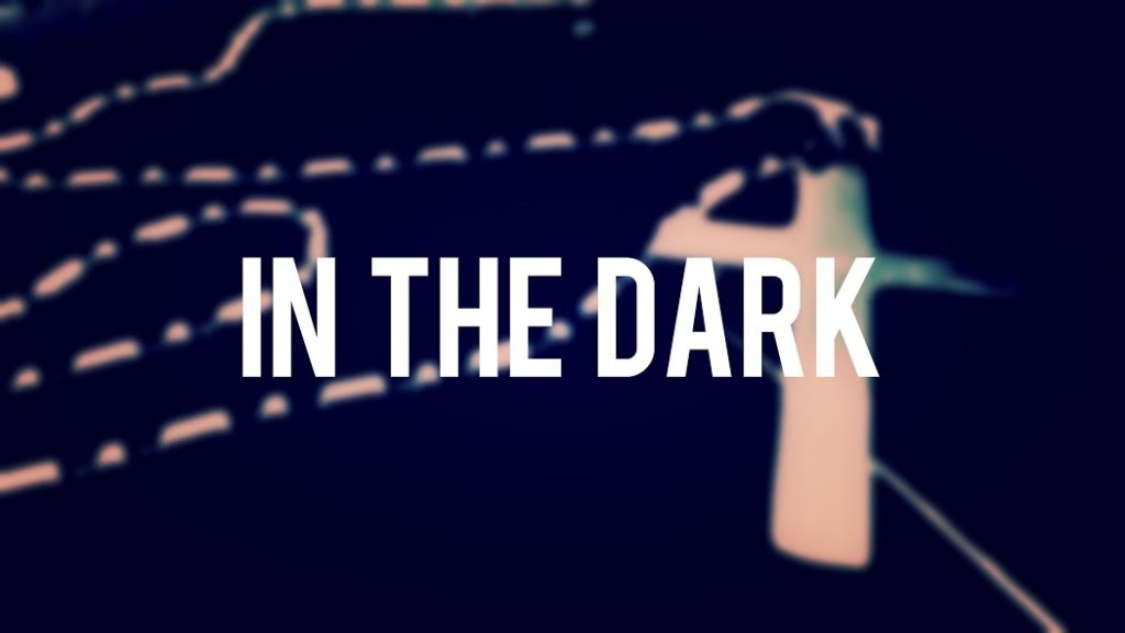 in the dark graphic