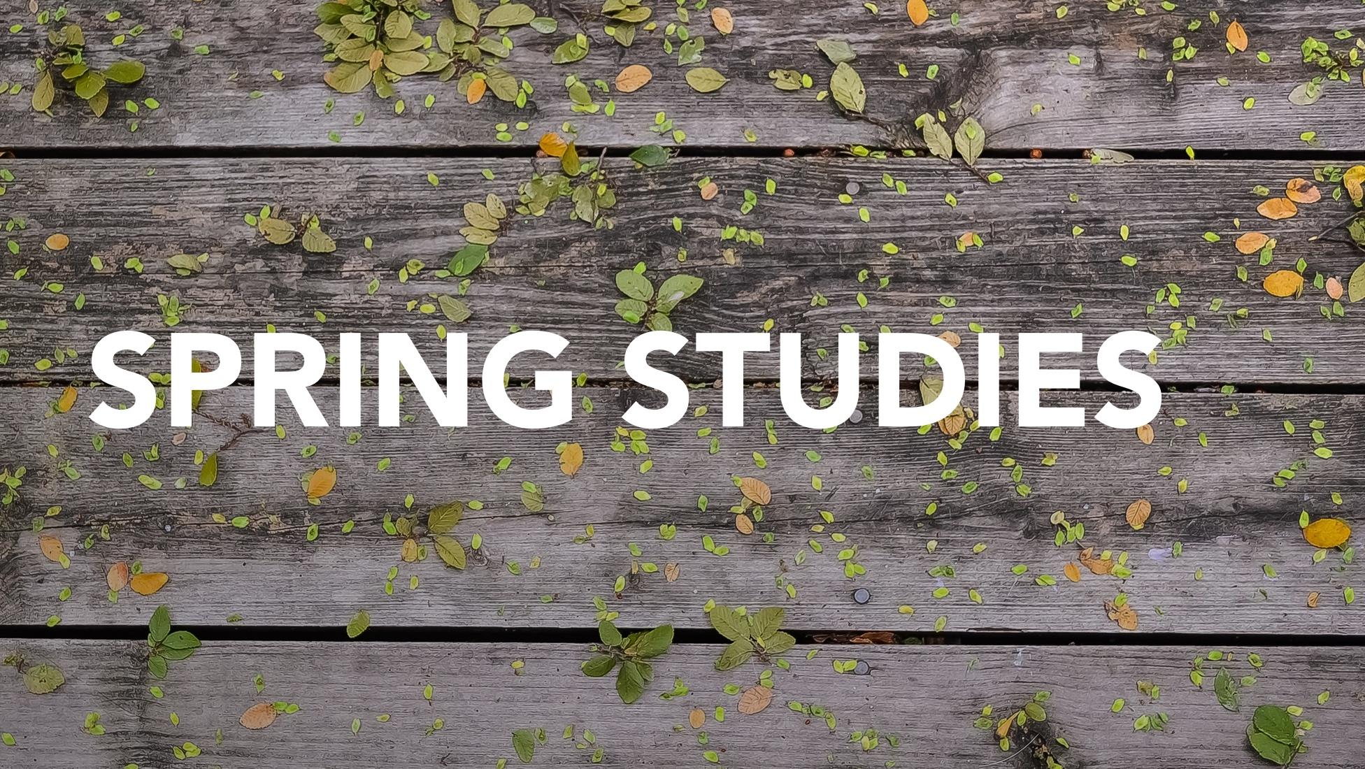 Spring Studies